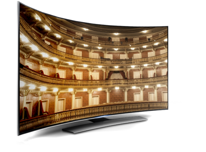 California Life Looks at the Pros & Cons of Curved TVs