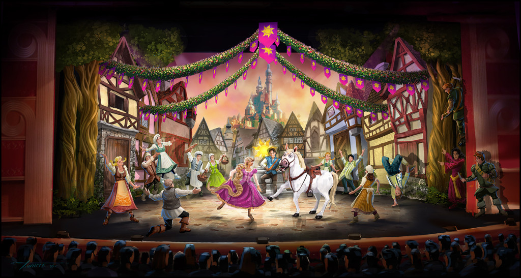 """""""Tangled: The Musical"""" to Set Sail Next Month on Disney Cruise Line"""