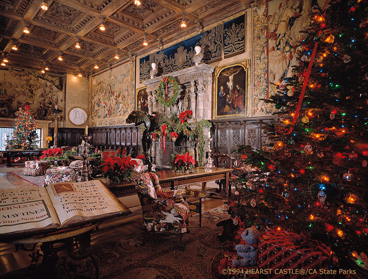 "New ""Holiday Twilight Tours"" at Hearst Castle"