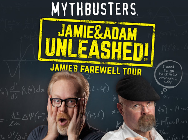 MYTHBUSTERS Tour is headed to California!