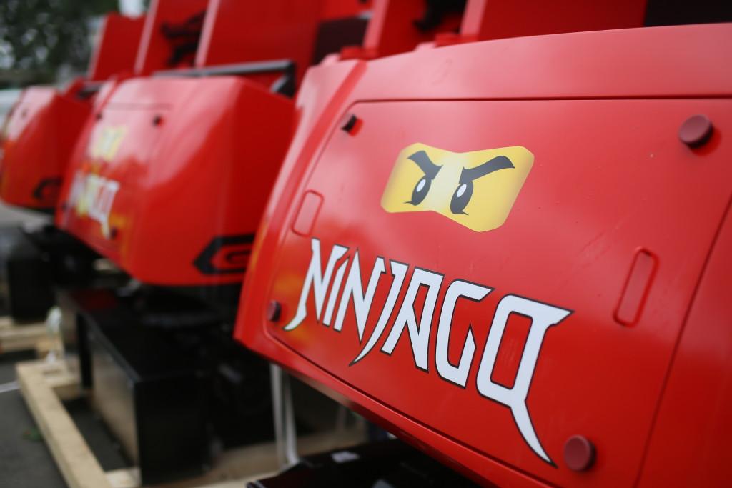 NINJAGO ride vehicles begin arriving at LEGOLAND California Resort