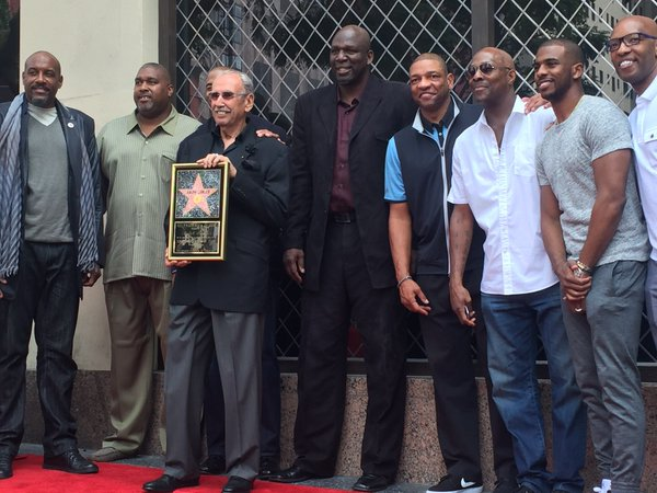 """The """"Voice of the Clippers"""" gets a star on the Hollywood Walk of Fame"""