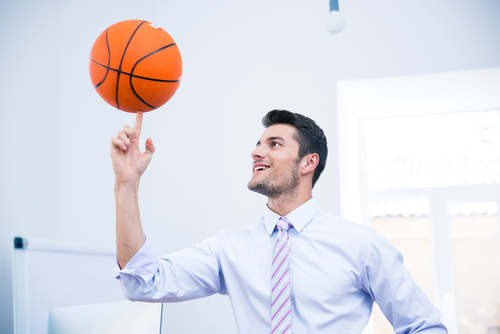 Men urged to pay attention to their health as well as their brackets
