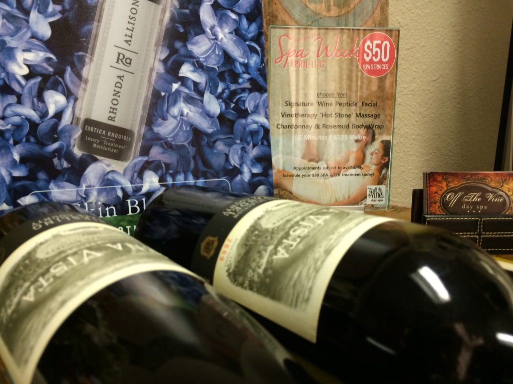 Off The Vine Day Spa owner explains how wine can be good for your skin