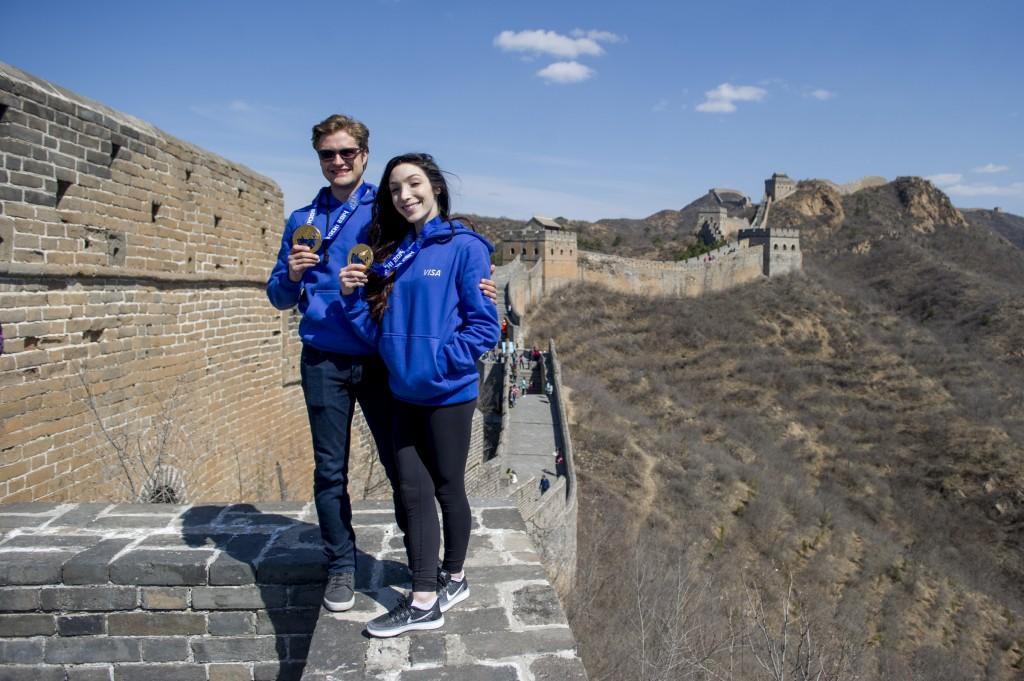 Gold medalists Meryl Davis & Charlie White talk 2018 Olympics