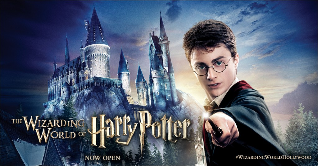 """""""The Wizarding World of Harry Potter"""" opens at Universal Studios Hollywood!"""
