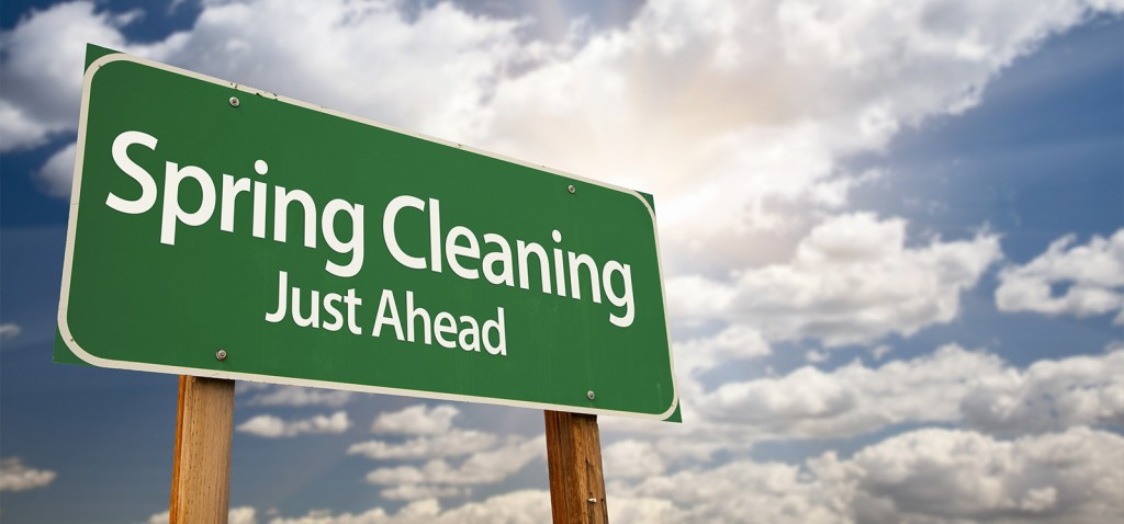 """Putting the """"spring"""" back into """"spring cleaning"""""""