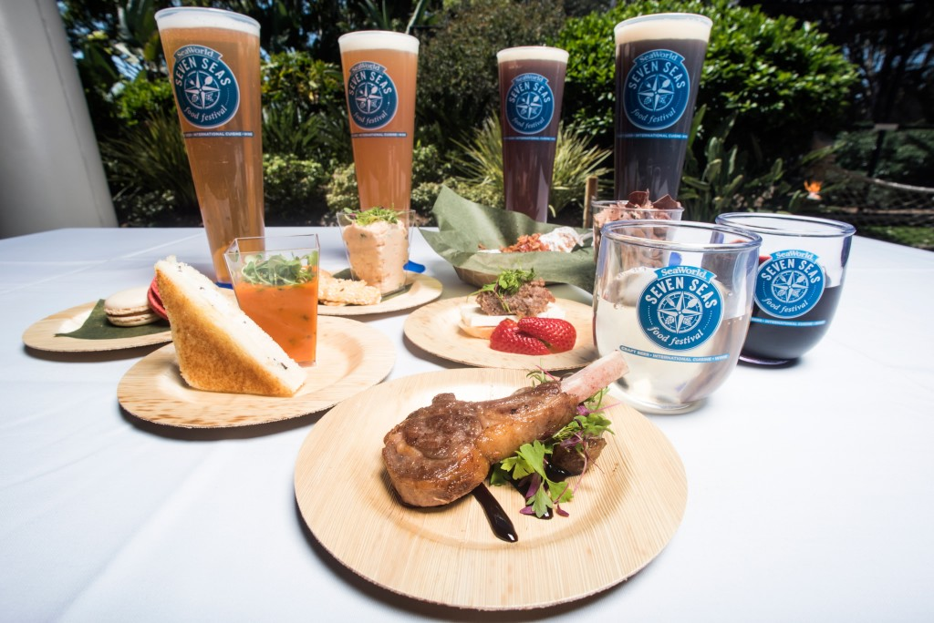 SeaWorld to kick off Seven Seas Food Festival this weekend