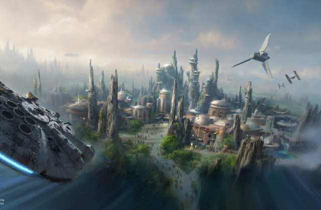 Disneyland reveals new artwork for upcoming Star Wars-themed land