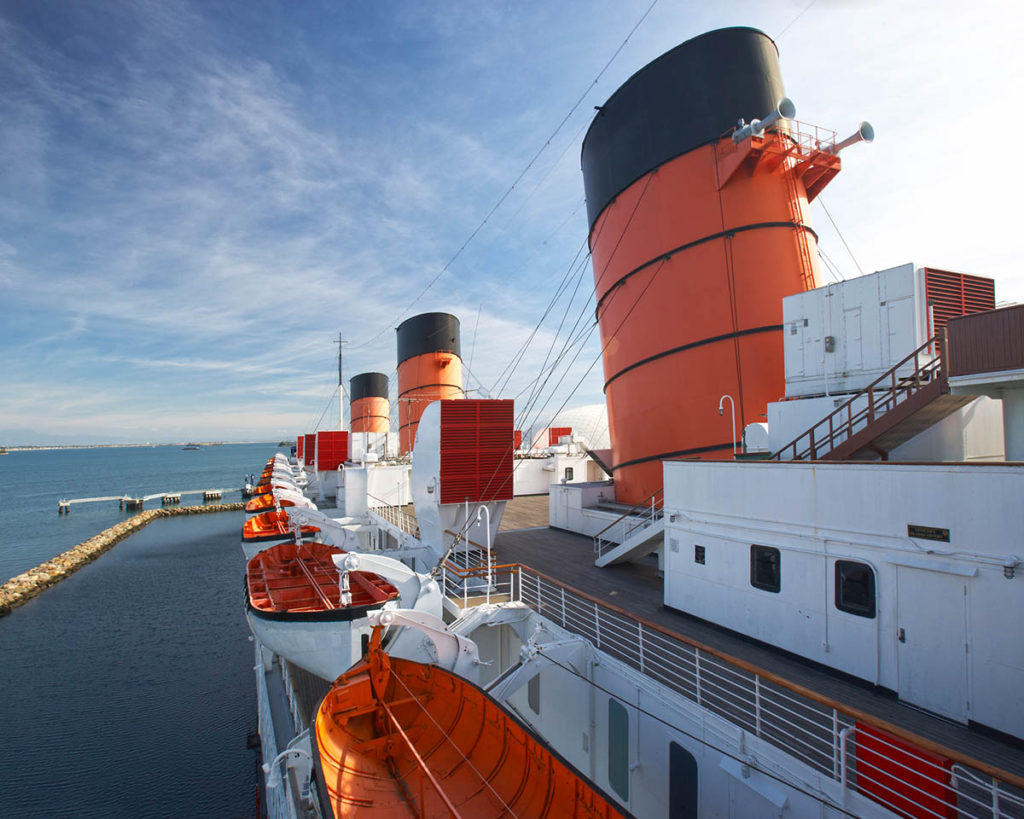 Queen Mary makes list of nation's spookiest spots