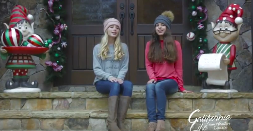 "Get into the holiday groove with a special cover of Ariana Grande's ""Santa Tell Me"""
