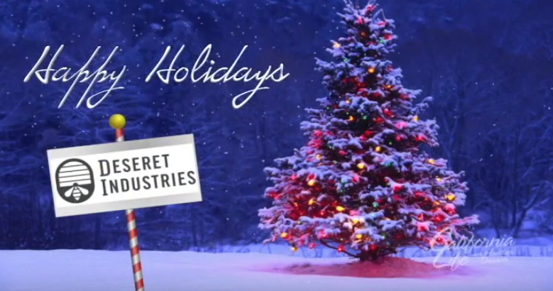Deseret Industries makes helping others easy by shopping for holiday gifts, decorations, clothing & more