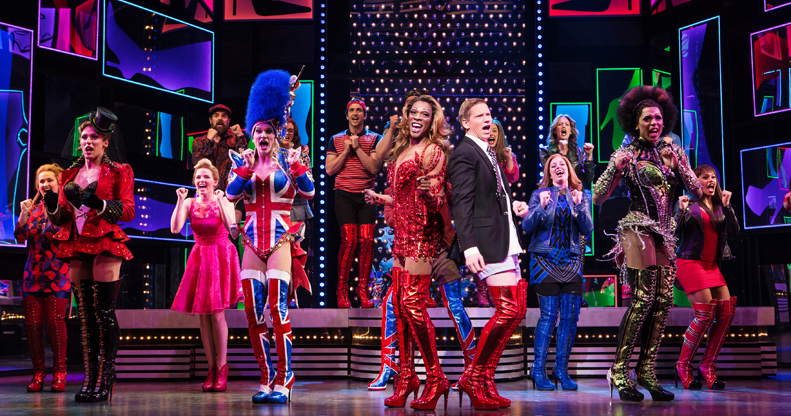 Broadway's Kinky Boots comically proves the right pair of shoes can help you conquer the world