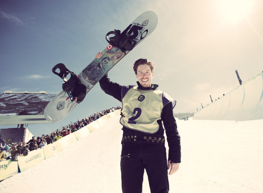 Olympic gold medalist Shaun White takes risks in his career on and off the mountain