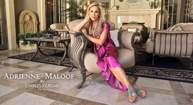 Real Housewife of Beverly Hills Adrienne Maloof's glamorous shoe designs dominate online retailers