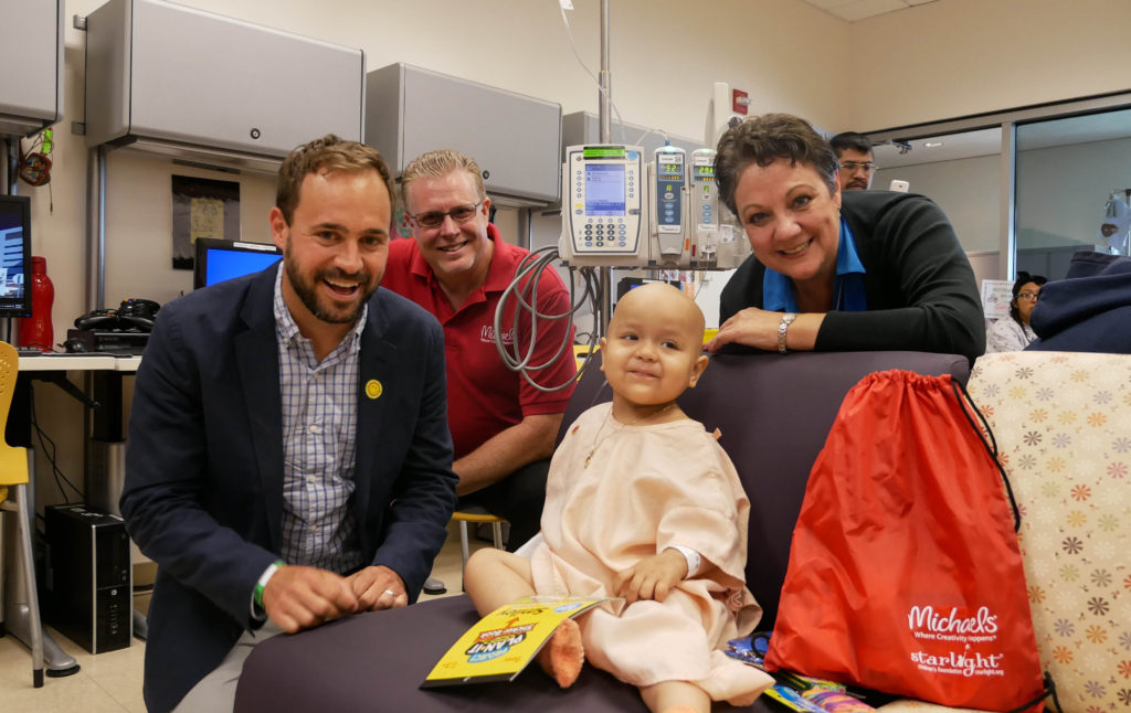 Michaels and Starlight Children's Foundation team up to give back to hospitalized children for National Volunteer Week