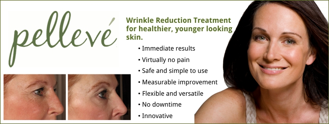 Pellevé: A breakthrough, non-invasive treatment that helps to tighten skin and reduce wrinkles
