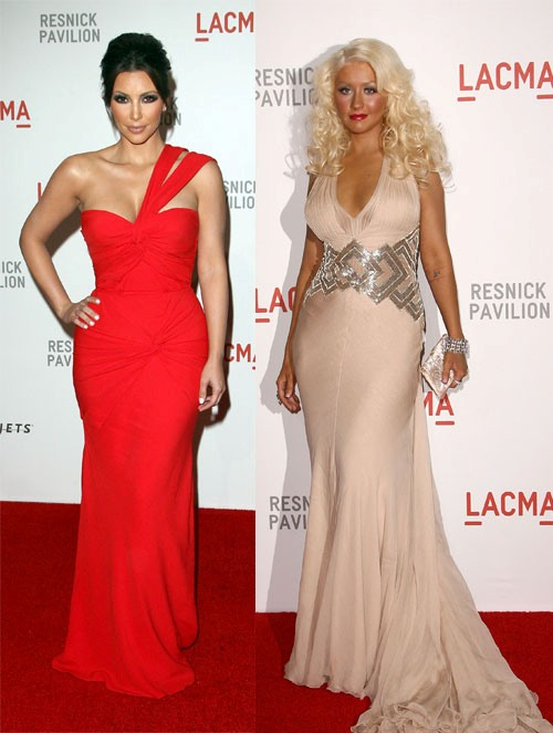 LACMA rolled out the red carpet for celebrities like Kim Kardashian West, Christina Aguilera, Olivia Wilde and more!