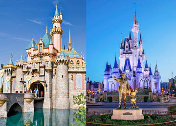 Disneyland v. Disney World: a comparison of the rides and attractions at two of the most famous amusement parks in the United States