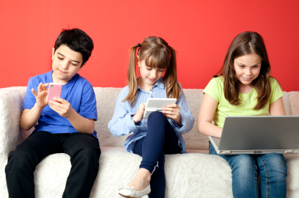 A new study shows how much technology today's children are using & how they are affected