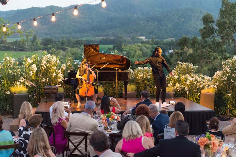 Festival Napa Valley brings fine wine, celebrities and entertainment to Napa Valley this summer