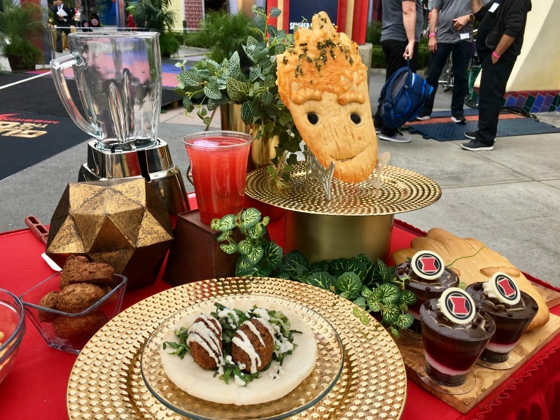 Eat your way through Disneyland's Summer of Heroes with new foodie-inspired dishes