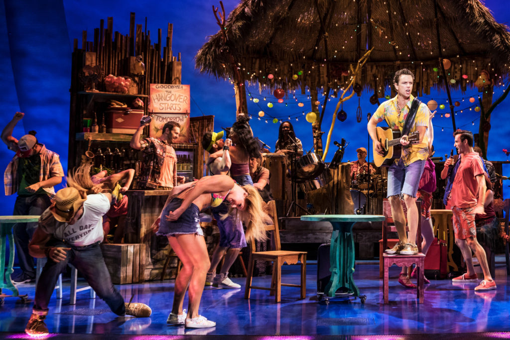 Escape to Margaritaville: The Musical transforms the La Jolla Playhouse into an island paradise