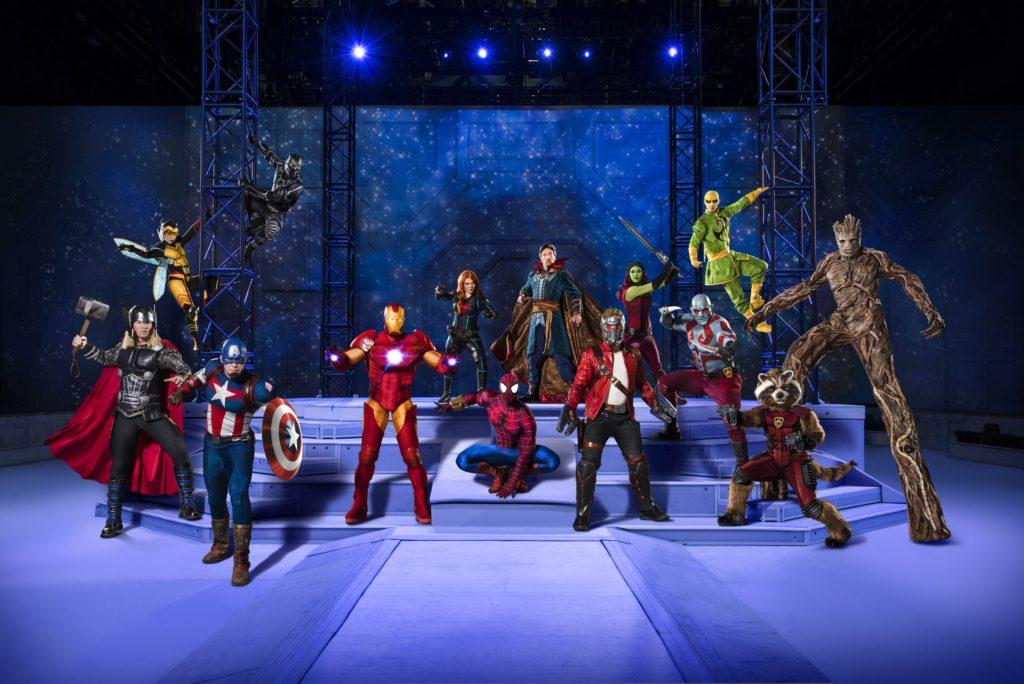 Marvel fans, assemble – Marvel Universe Live! announces new show, Age of Heroes!