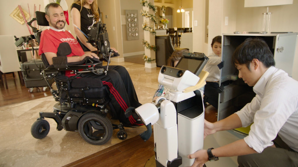 U.S. war vet becomes the first trial for in-home robotic technology