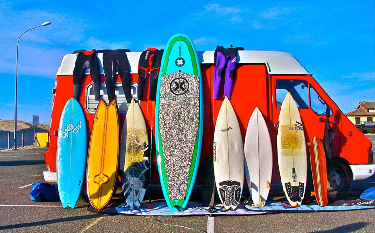 Surf the coast of Oceanside, California with Quiver Boardworks