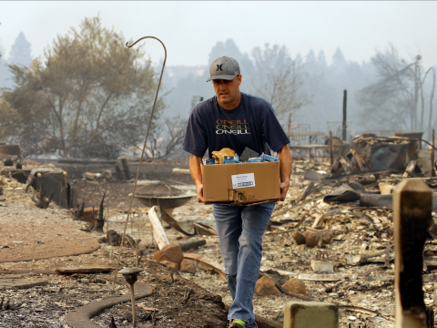 The Napa Valley Spirit Shines Brightly After One of the Largest Wildfires in California's history