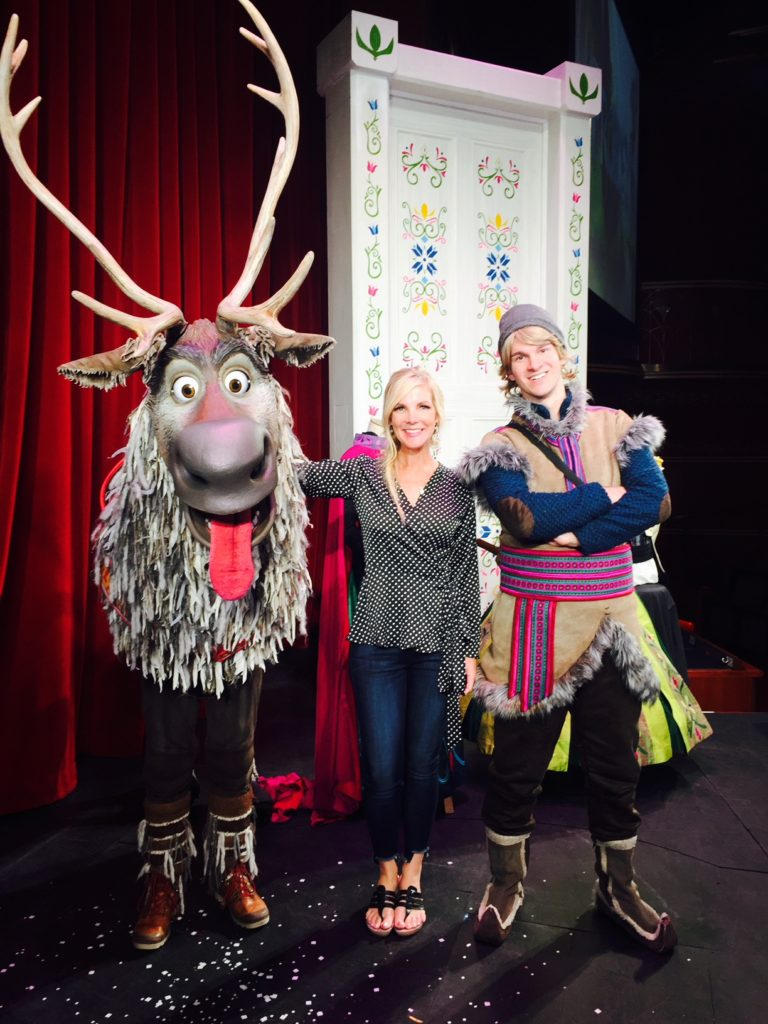 Go Backstage with the Stars of Disney's Frozen Musical on the Disney Wonder Cruise line