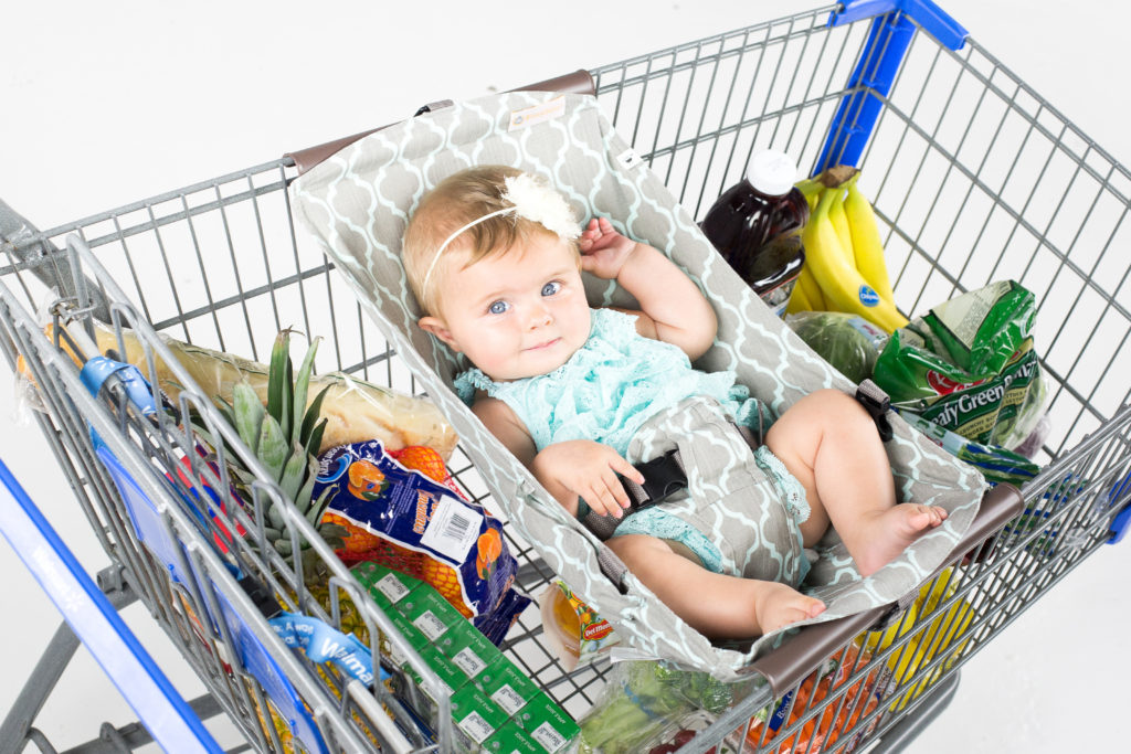 Mother Knows Best- Review of Binxy Baby Shopping Cart Hammock