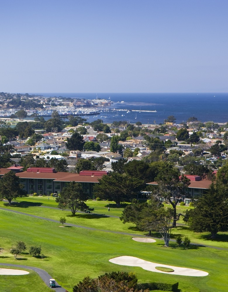 The Hyatt Regency Monterey Hotel & Spa on Del Monte Golf Course is a destination of relaxation and proximity
