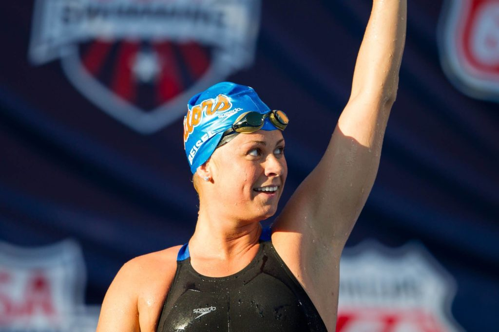 Learn to swim with an Olympic gold medalist