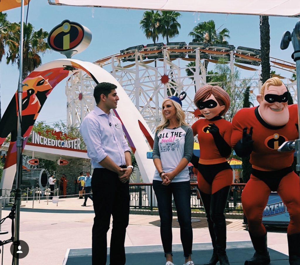 The Incredicoaster at Pixar Pier in California Adventure is now open!
