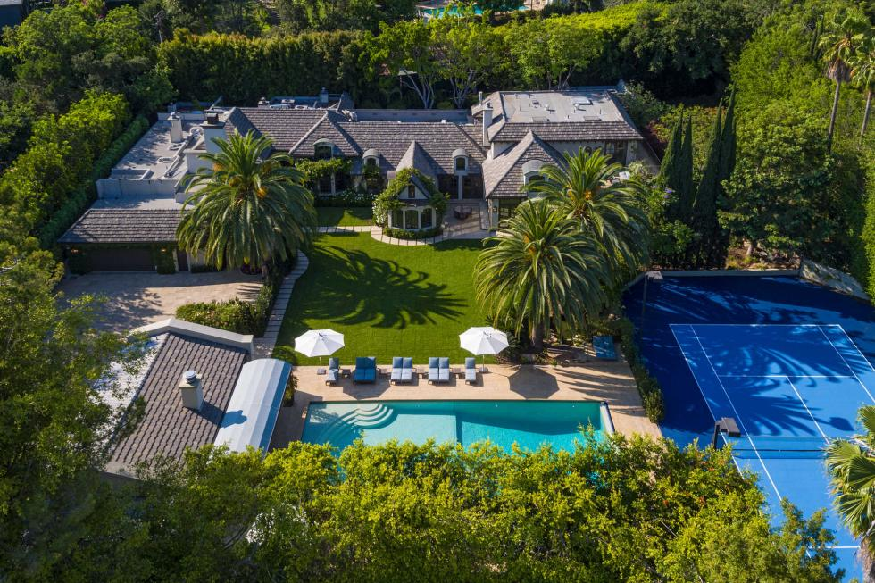 Madonna's former $35 million Beverly Hills mansion for sale
