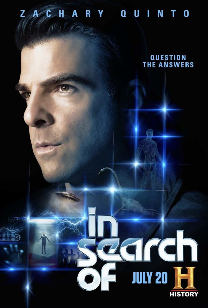 'In Search Of' looks at unexplained phenomenons with Zachary Quinto