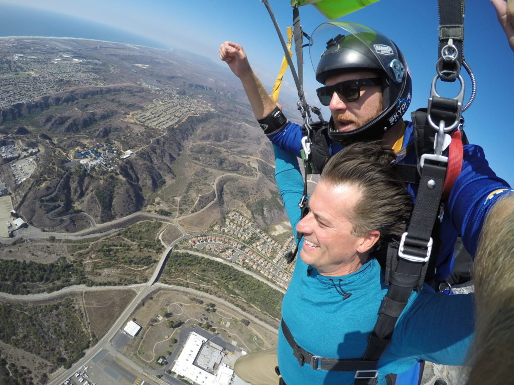 Skydiving with Go Jump Oceanside