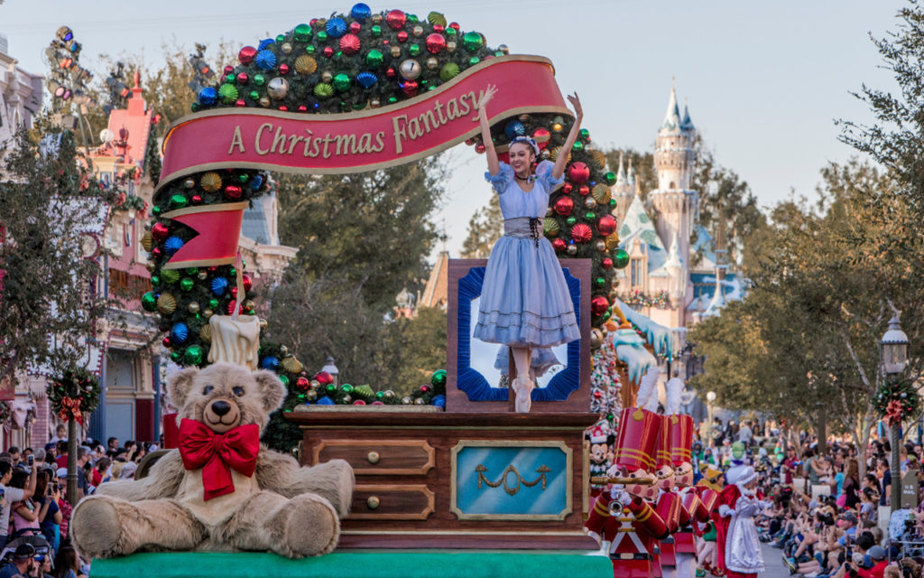 The Holidays Begin at Disneyland Celebrate Disney Festival of Holidays