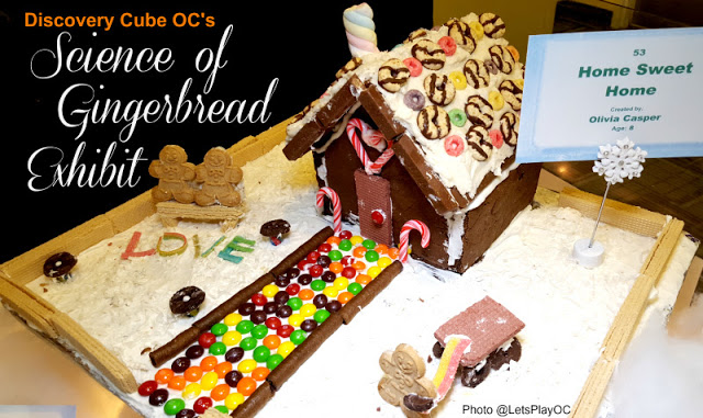 A Look Back at The Science of Gingerbread at The Discovery Science Center in OC