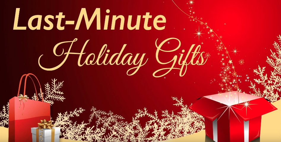 Last Minute Gift Ideas You don't Want To Miss!