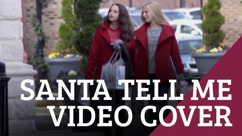 Santa Tell Me – Ariana Grande Cover by Mirabella & Ava