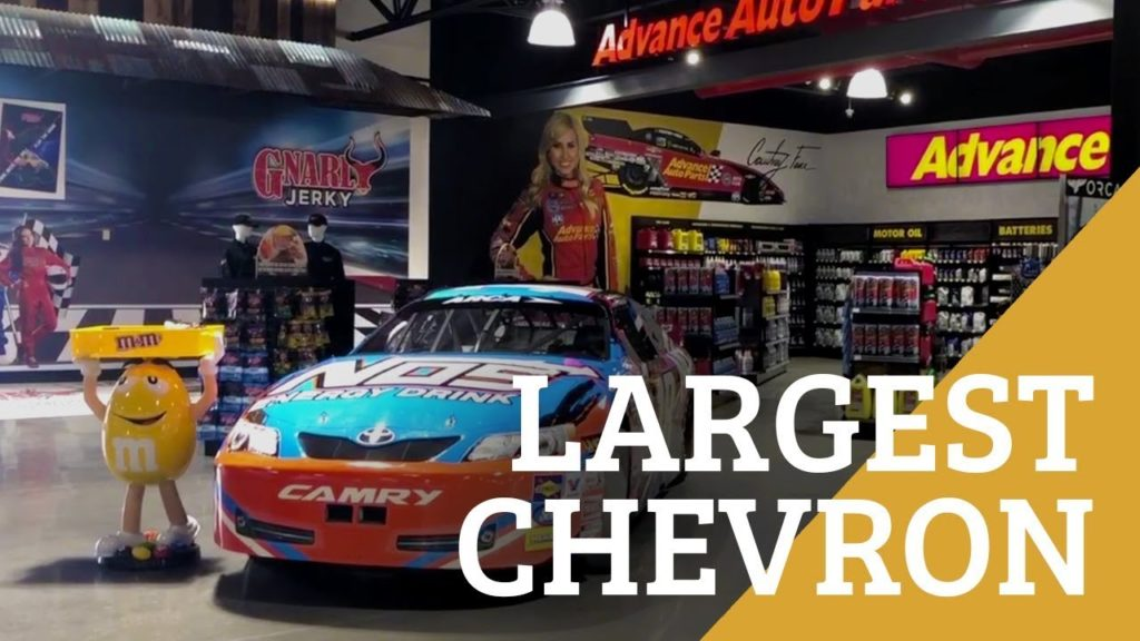 The World's Largest Chevron is On the Way to Las Vegas!