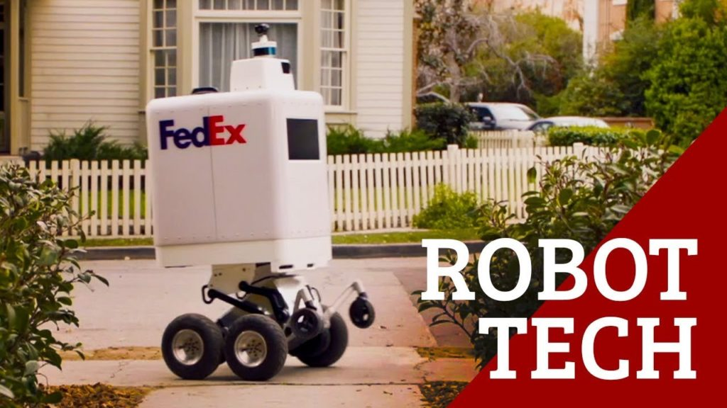 The Future is Now – Say Hello to The FedEx Bot