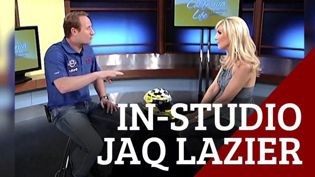 Legendary Racer Jacques Lazier in Studio