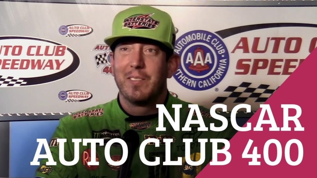 Kyle Busch Takes The Checkered at the NASCAR Auto Club 400