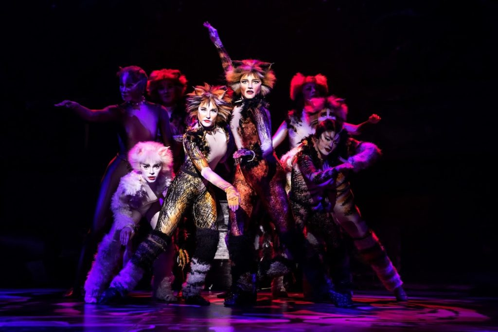 CATS WILL PLAY AT THE SAN DIEGO CIVIC THEATRE FROM APRIL 16 TO APRIL 21