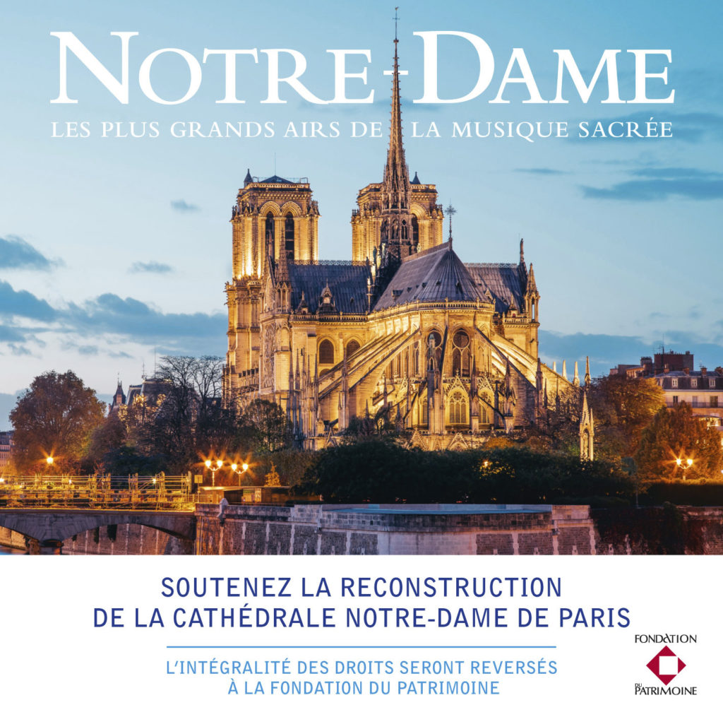 NEW ALBUM TO SUPPORT THE REBUILDING OF NOTRE-DAME