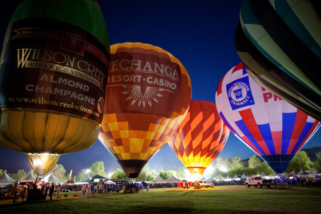 Summer Fun Starts in SoCal's Wine Country at the Temecula Valley Balloon & Wine Festival